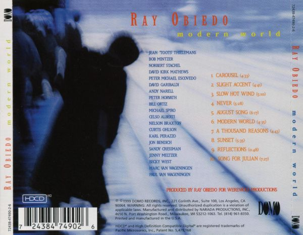Ray obiedo modern world