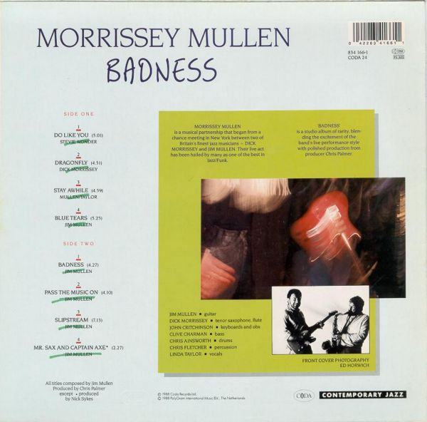 Morrissey-Mullen* Morrissey Mullen - This Must Be The Place
