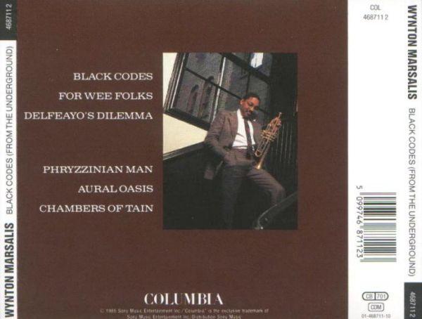 Wynton Marsalis Black Codes From The Underground
