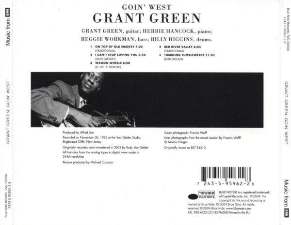 Grant Green Goin West