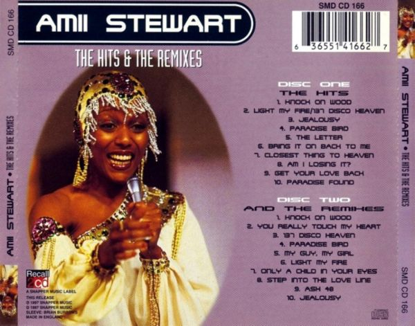 Amii Stewart - The Letter / Paradise Bird