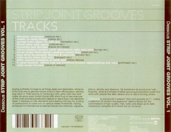 2 groove joint strip vol